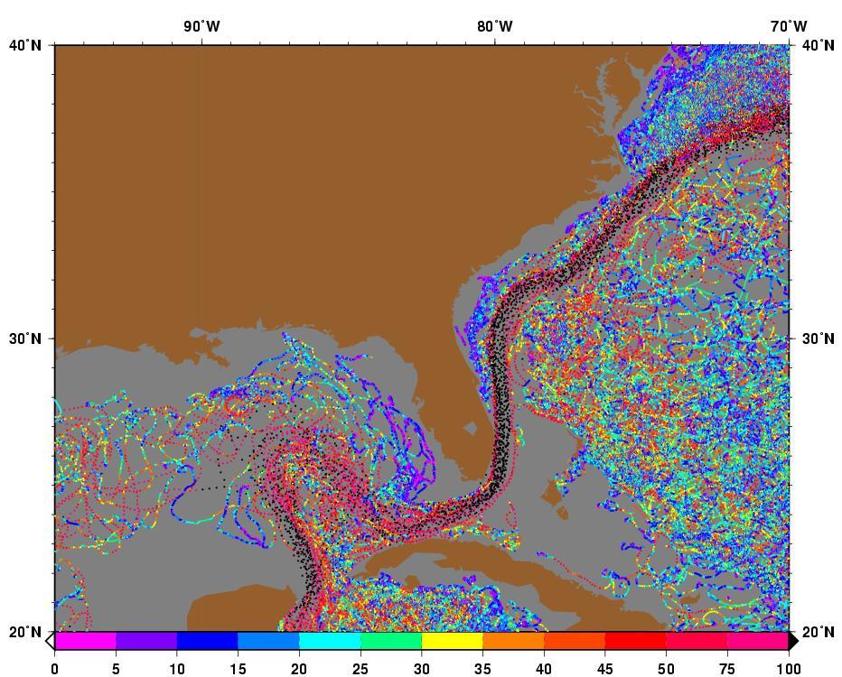 Florida Current Map.The Florida Current