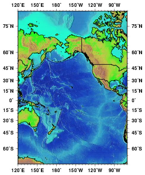 Ocean Surface Currents - Basin Maps